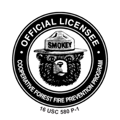 Smoke Bear Official Licensee Logo