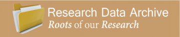Research Data Archive logo