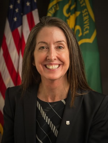 U.S. Forest Service Associate chief Mary Wagner