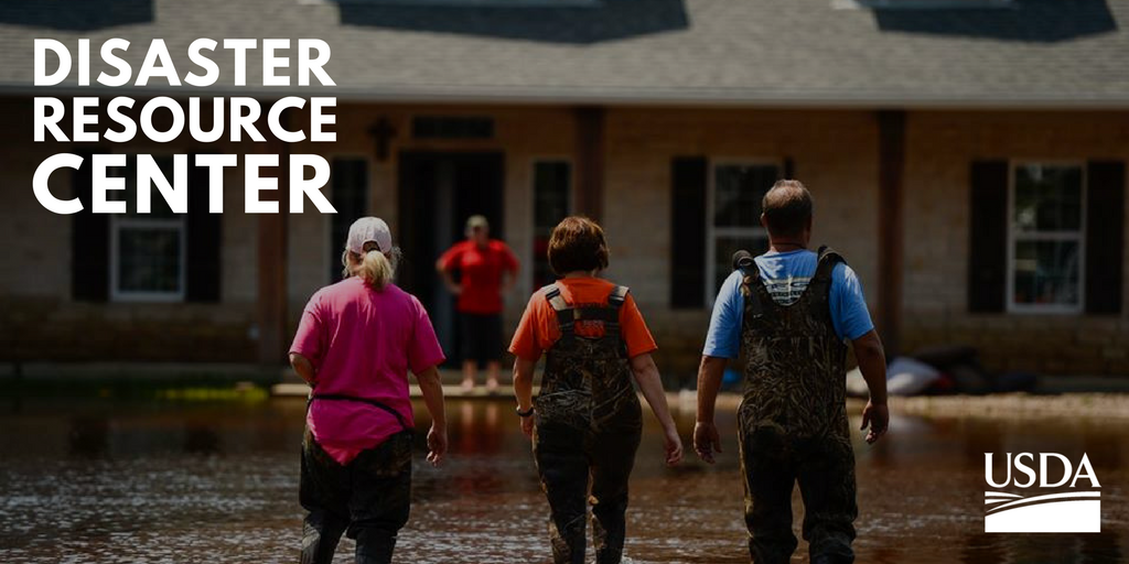 We are prepared to provide food, emergency housing, community, farmer and rancher assistance to individuals and small businesses affected by Hurricane Florence. https://www.usda.gov/topics/disaster/storms
