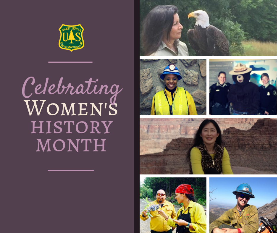 Celebrating Women's History Month.