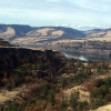 A photo of the Columbia River Gorge