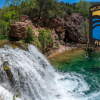 A photo of Waterfall Trail on Fossil Creek Coconino National Forest in Arizona