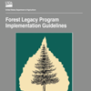 A cover for the publication Forest Legacy Program Implementation Guidelines