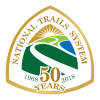 A small graphic of the National Trails System logo