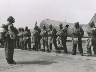 Historic smokejumper photo