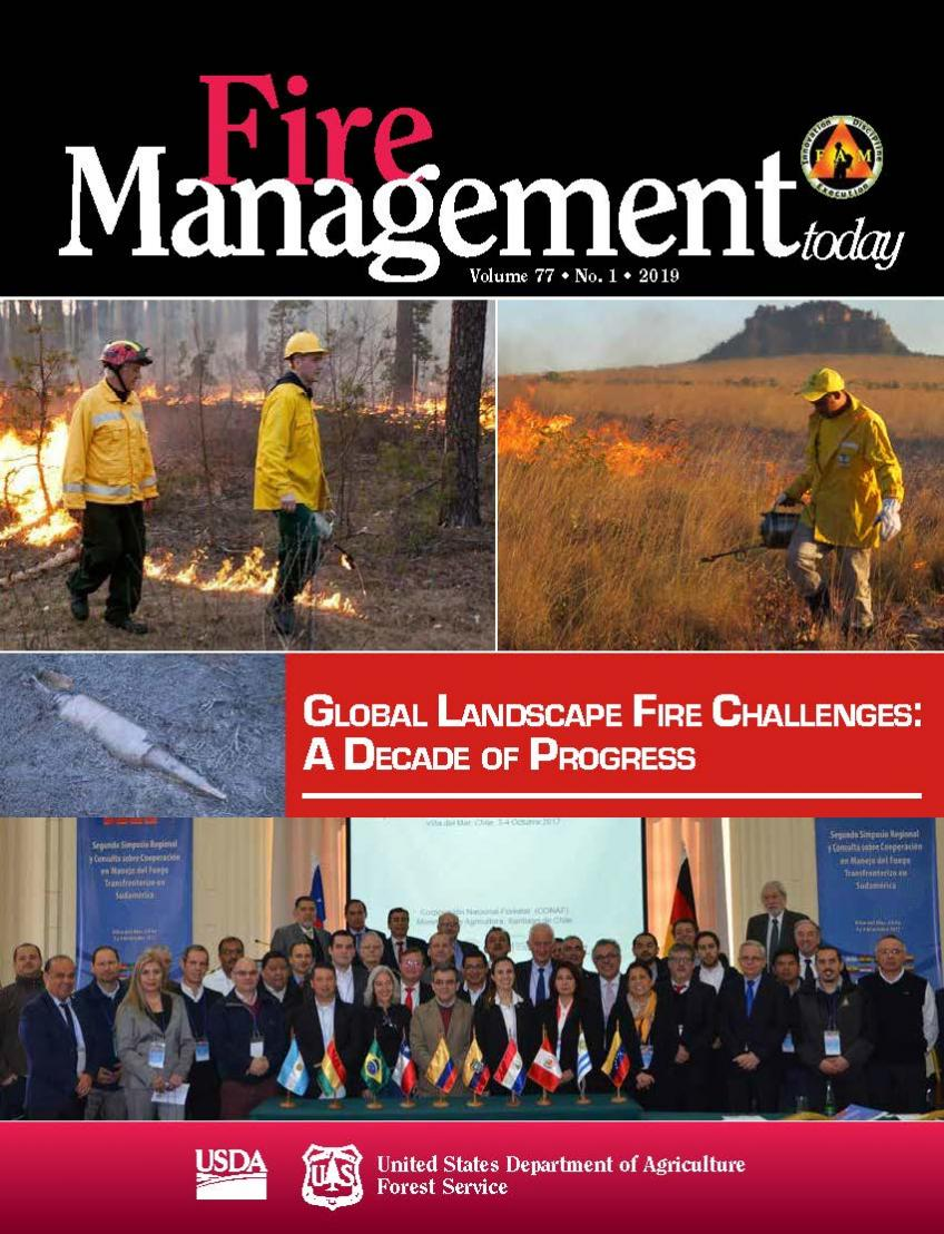 Fire Management Today Issue 77-1 Cover