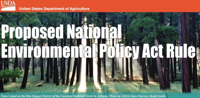 Header: Proposed National Environmental Policy Act Rule