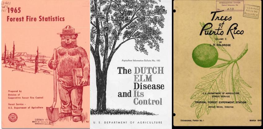 Colección digital del Servicio Forestal de Estados Unidos