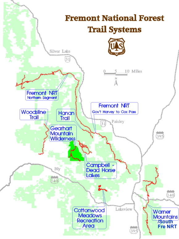 Fremont National Recreation Trail