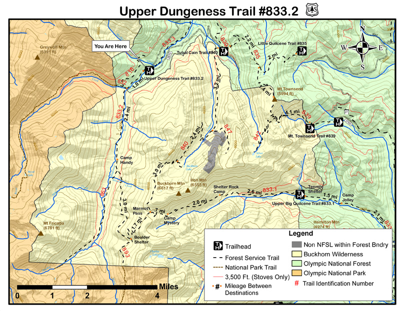 Upper Dungeness Trail